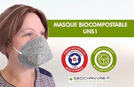 Biorazgradive maske od konoplje sve prisutnije na tržištu