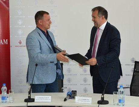 U susret Poljoprivrednom sajmu Novosadski sajam i Poljoprivredni fakultet ozvaničili saradnju