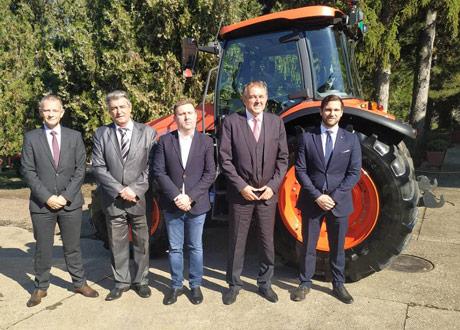 Kubota M-5092 za Poljoprivredni fakultet u Novom Sadu