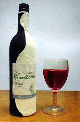 Taj ludi svet: Papirna vinska flaša