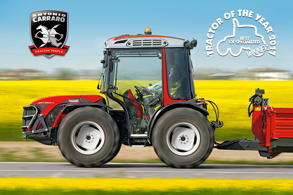 Antonio Carraro Tractors - bilans stanja 2016: savršenog zdravlja