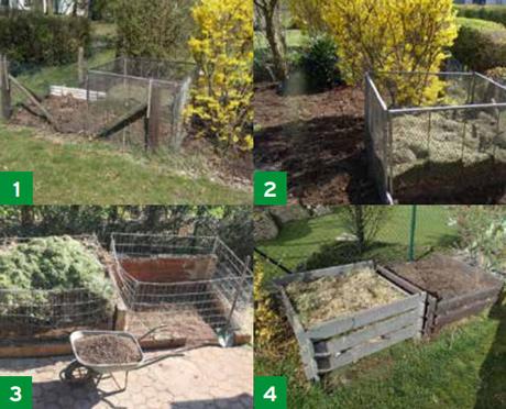 Jednostavno kompostiranje različitih materijala