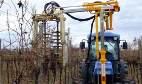 Mašinsko orezivanje vinove loze