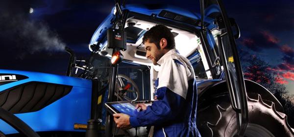 Diagnostika na traktorima i kombajnima
